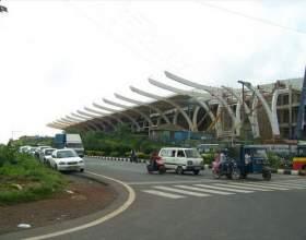 Аеропорт гоа зустрічає гостей фото