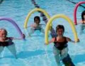 Аквааеробіка - ефективний вид аквафитнеса для схуднення фото