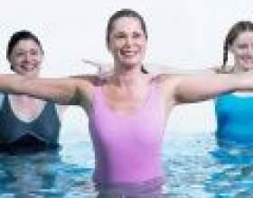 Аквааеробіка: вправи на витривалість, гнучкість і координацію фото