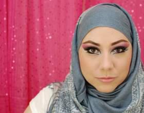 Арабська макіяж очей: звабливий погляд принцеси фото