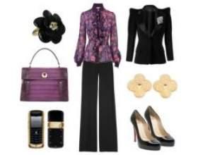 Базовий гардероб бізнес леді фото