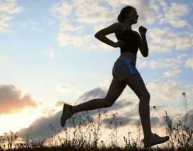Біг для схуднення - таблиця: потрібно тільки захотіти фото