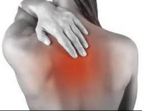 Біль у хребті між лопатками. Біль в грудному відділі хребта: причини, лікування фото