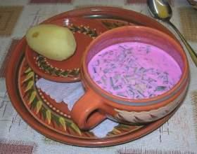 Борщ холодний: рецепт приготування традиційного російського страви фото