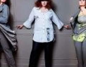 Штани для повних жінок: правила вибору фото