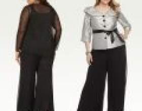 Штани для повних жінок: підбираємо вдалий фасон фото