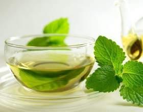 Чай з м'ятою, лікувальні властивості фото