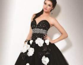 Чорна перлина, або як вибрати чорне весільну сукню фото