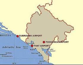 Чорногорія. Аеропорти дивовижної країни фото