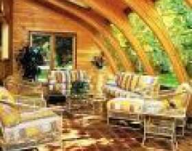 Як красиво і дешево оформити будинок в екостилі фото