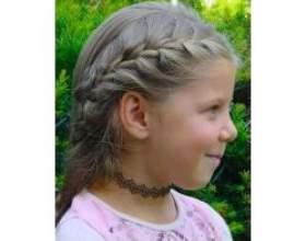 Дитячі зачіски на довгому волоссі фото