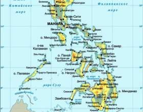 Філіппіни - відпочинок, достопрімечтальності, погода, кухня, тури, фото, карта фото