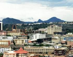 Місто яунде - столиця камеруну фото