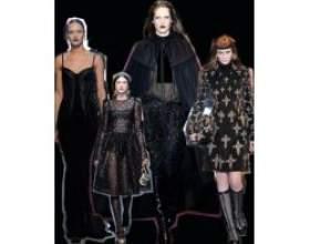 Готичний тренд знову в моді фото