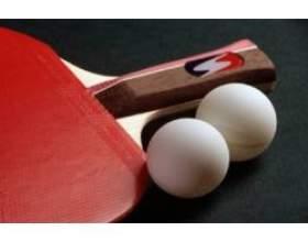 Гра в настільний теніс фото