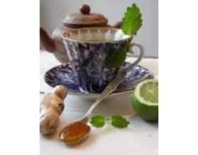 Імбирний чай для схуднення фото