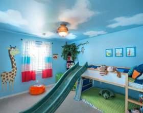 Інтер'єр дитячої кімнати для різностатевих дітей: фото фото