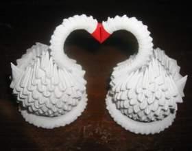 Як з паперу зробити лебедя: практичні поради фото
