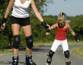 Як навчити дитину кататися на роликах? Кращі ролики для дітей - відгуки, ціни фото