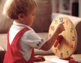Як навчити дитину визначати час за годинником фото