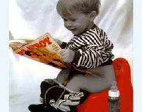 Як навчити дитину писати в горщик? фото