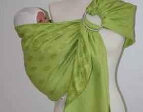 Як носити слінг з кільцями: інструкція. Як правильно одягати і зав'язувати слінг з кільцями? фото