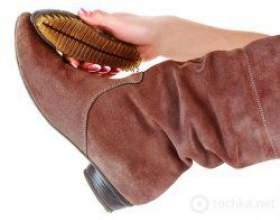 Як почистити замшеве взуття в домашніх умовах? фото