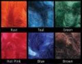 Як пофарбувати шерсть для валяння фото