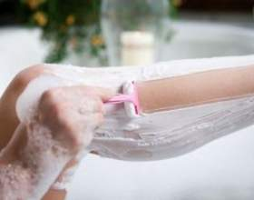 Як голити ноги фото