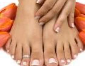 Правильний догляд за нігтями ніг фото