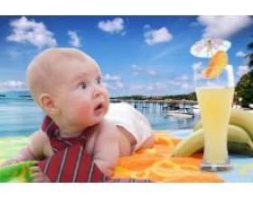 Як провести відпустку з немовлям фото