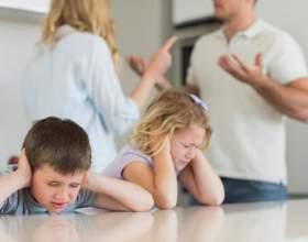 Як розлучитися з дружиною, якщо є діти? Діти після розлучення фото