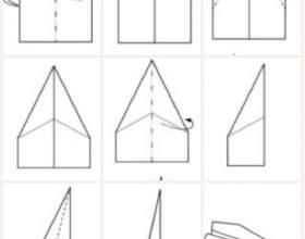 Як зробити паперовий літак, який добре літає? фото