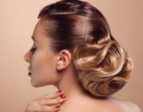 Як зробити незвичайну вечірню зачіску фото