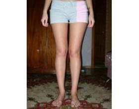 Як приховати криві ноги фото