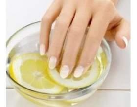 Як зміцнити нігті за допомогою народних засобів? фото