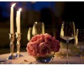 Як влаштувати романтичну вечерю для батьків фото