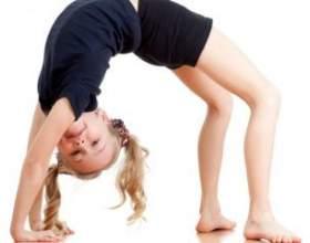 """Гімнастичну вправу """"місток"""": як навчитися робити вдома фото"""