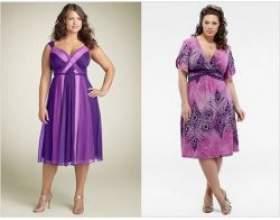 Як вибрати сукню для повних жінок? фото