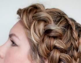 Як заплітати красиві кіски самій собі: милі зачіски будинку фото
