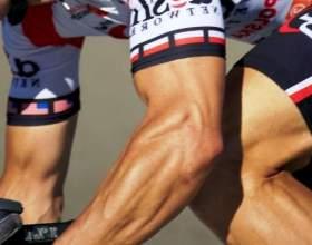 Які м'язи гойдаються при їзді на велосипеді по гірській і рівнинній місцевості? фото