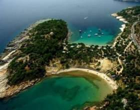 Яке море в греції. Тепле море в греції фото