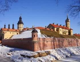 Карта пам'яток: середньовічні замки білорусії фото
