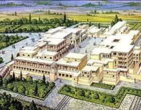 Кносський палац на крите. Греція, острів крит: пам'ятки фото