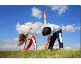Комплекс ранкової гімнастики для школярів фото