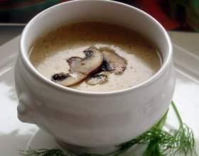 Крем-суп грибний - гарне рішення для застілля фото