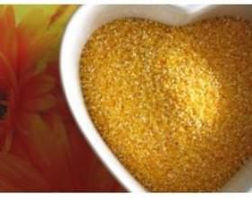 Кукурудзяна каша: вітаміни, мікроелементи фото