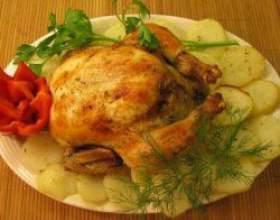 Курка в духовці: рецепти апетитних і легких страв фото