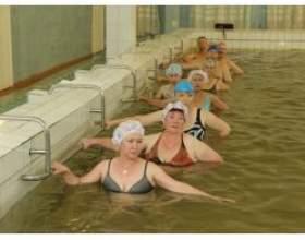 Лікувальна гімнастика в воді при ожирінні фото