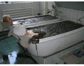 Лікувальні властивості грязьових ванн фото